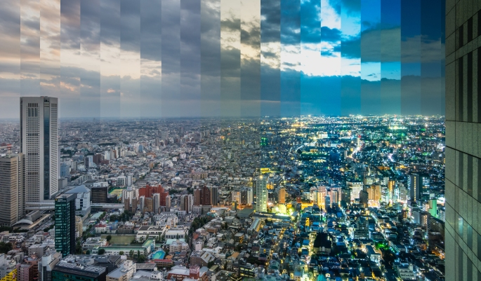 tokyo-sunset-timeslice